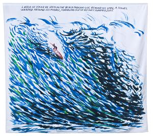 Pettibon Surf Beach Towel